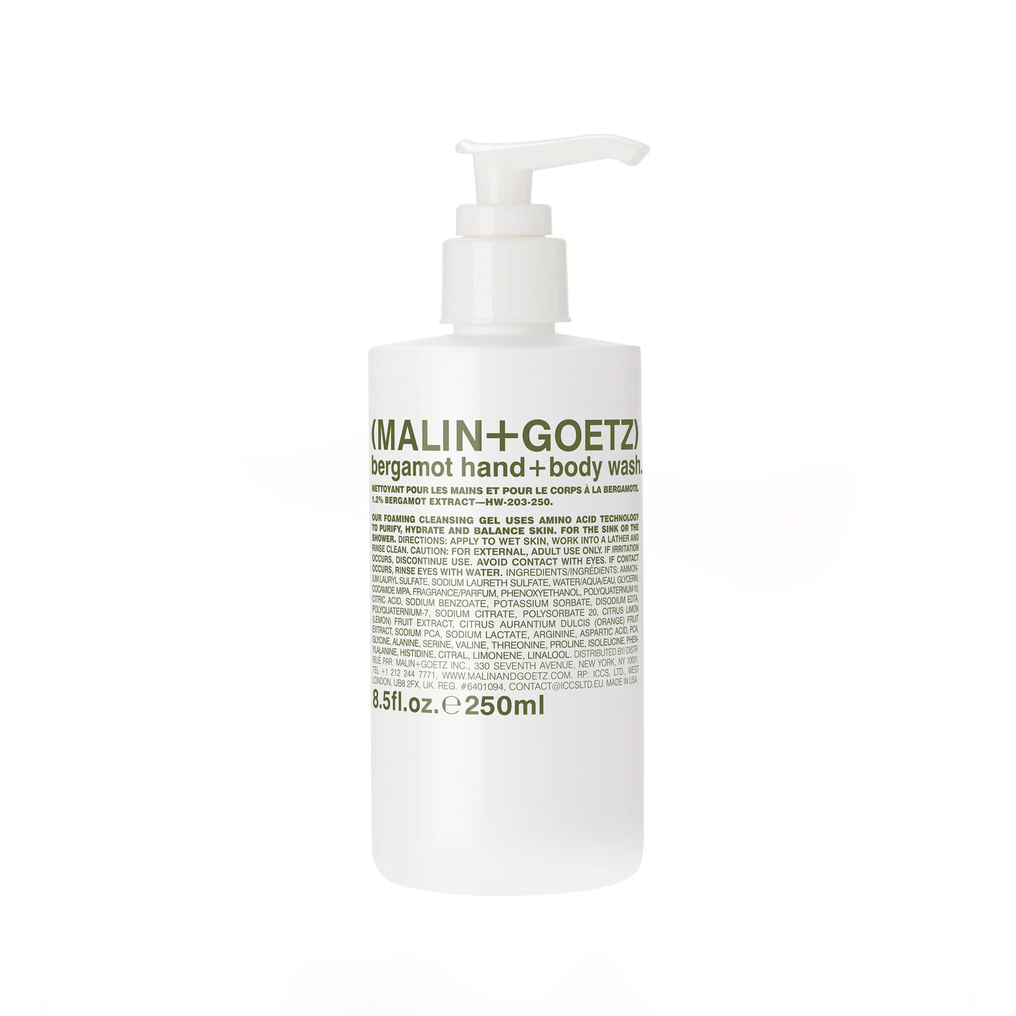Bergamot Hand Body Wash Malin+Goetz